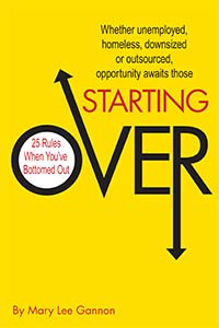 Starting Over: 25 Rules When You've Bottomed Out